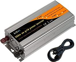 LiSos 500w Grid Tie Pure Sine Wave Power Inverter Generator DC22-56v to AC90-130v …