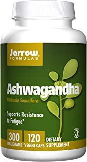 Jarrow Formulas Ashwagandha (Withania somnifera) Extract 300 mg 120 Veggie Caps