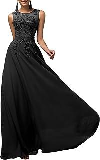 GRACE KARIN Vestito Donna Firmato Elegante Vestito da Sera Donna Elegante Abito da Sera Floor Length Senza Maniche Maxi