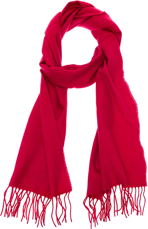 100% Cashmere Scarf - Super Soft 12 Inch x 64.5 Inch Warm Wool Cozy Shawl Wrap w/Gift Box for Women and Men