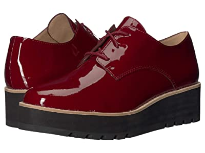 Eileen Fisher Eddy (Burgundy Patent Leather) Women