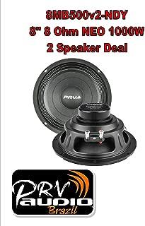 (2) PRV Audio 8MB500v2-NDY 8