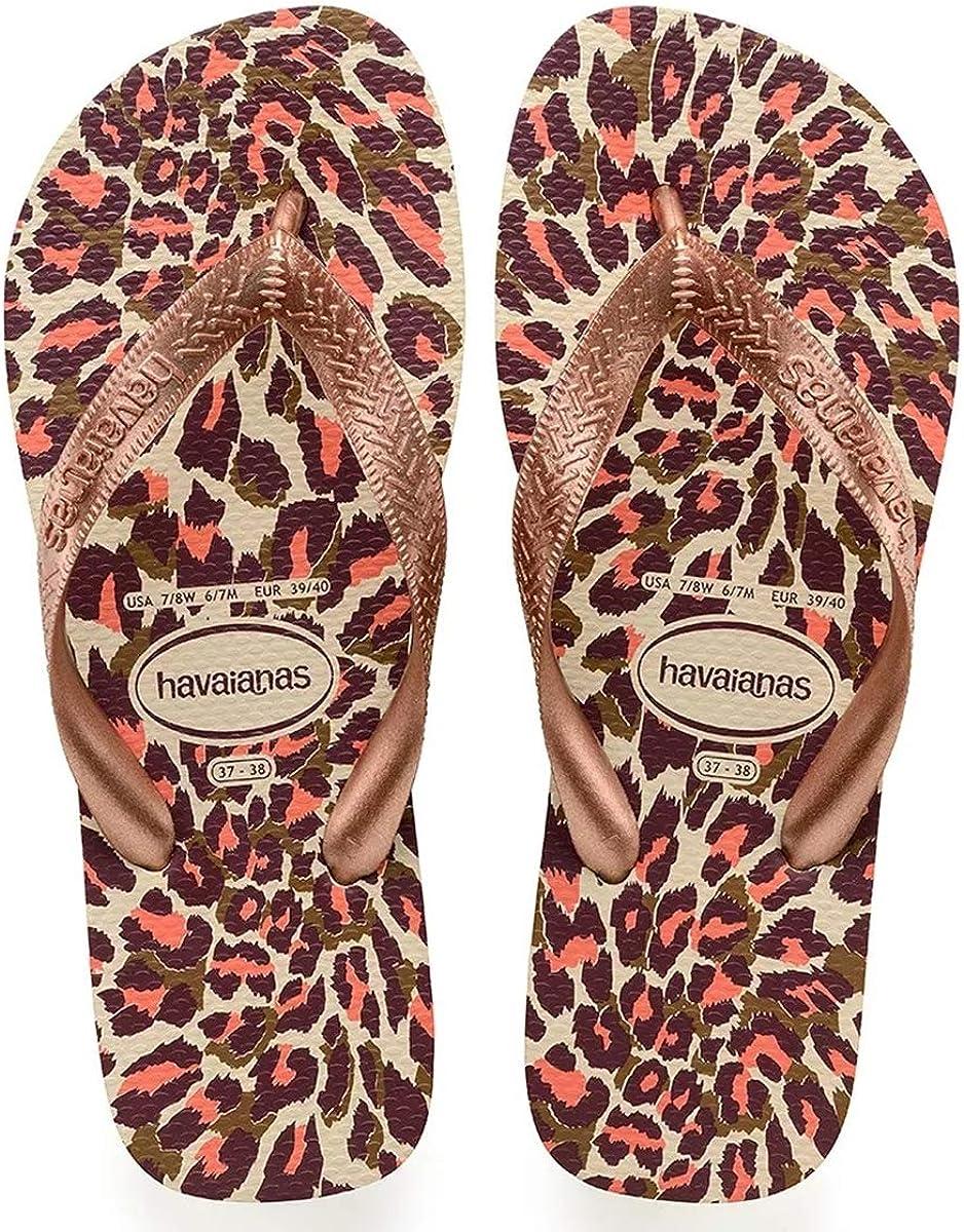 Havaianas Women's Animals Top Print Flip-Flop Sandal