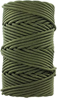 GOLBERG G Paracord Type III or Type IV Milspec Mil-C-5040H - 550 lb or 750 lb Tensile Strength - 100% Nylon Core and Shell - 7 Strand or 11 Strand - Utility Cord for Camping, Tie-Downs, Crafting