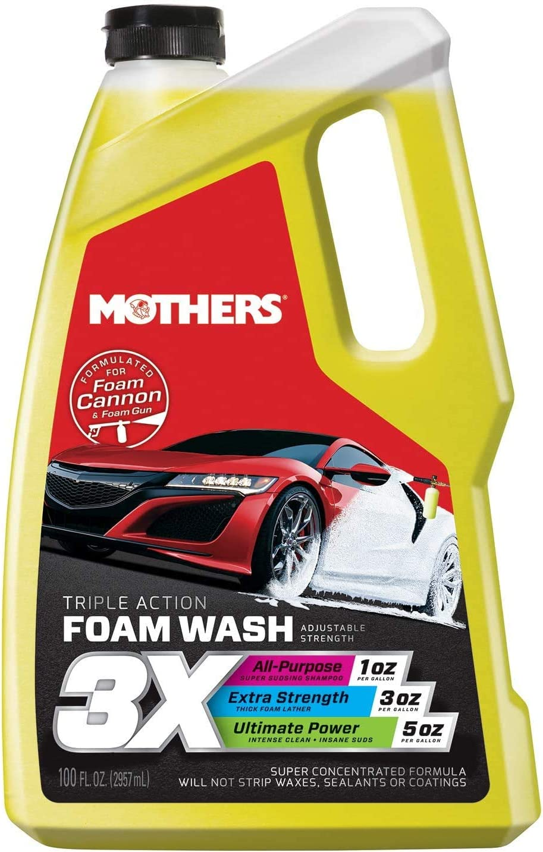 Mothers Fashionable Bombing free shipping 05610 3X Triple Action 100 Foam Wash fl. oz.