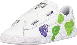 Basket Glitter Hearts Kids Sneaker
