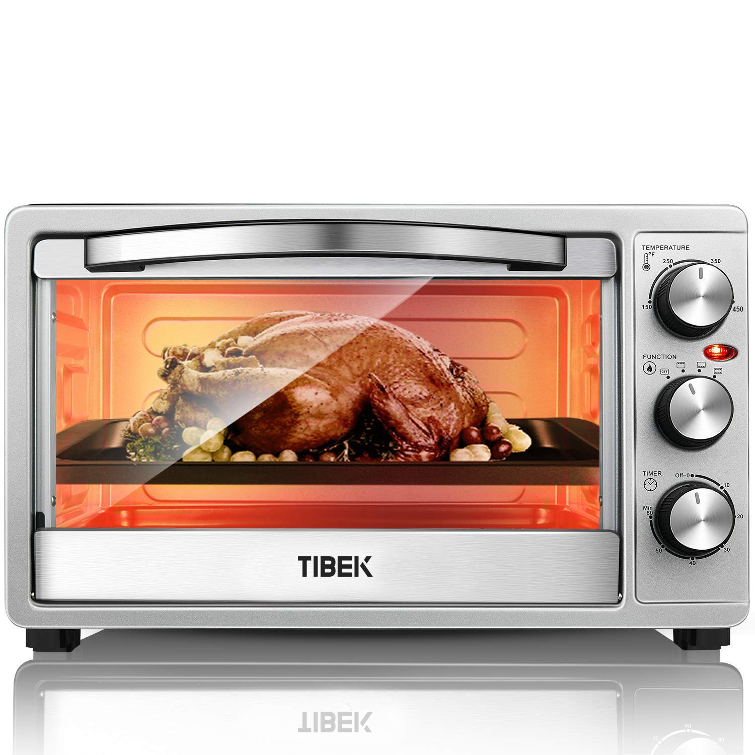 SpeedBaking Function Intuitive Easy Reach Stainless
