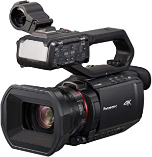 Camcorders and Pro Video Cameras with SDC-26 Case Panasonic HDC-HS100 Camcorder External Microphone XM-AD2 Dual Channel XLR-Mini Audio Adapter for DSLR/'s
