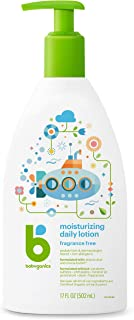 Babyganics Daily Lotion, Fragrance Free, 17oz, Packaging May Vary