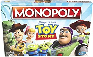 Monopoly Toy Story Board Game. 1000