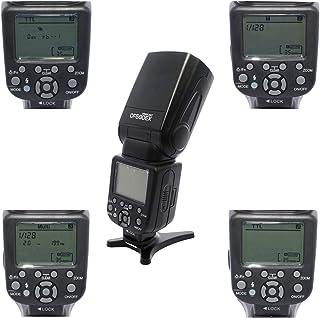 COOPIC CF580EX N LCD Display Speedlite Flash Wireless GN56 5500K TTL Flash for all NIKON Cameras.