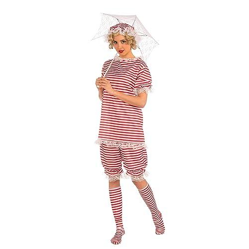 Fancy Dress White Long Handle Parasol Umbrella with lace edging BA774