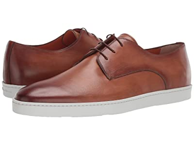 Santoni Doyle Atlantis Casual Lace-Up Sneaker (Brown) Men
