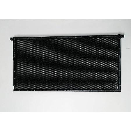"9/"" Foundation Heavy BEE/'S Waxed Coated Black Plastic DEEP 10 Sheets Garden /&"