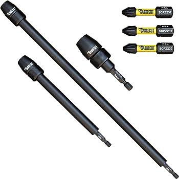 SabreCut SCPH2152/_10 Lot de 10 embouts de tournevis /à chocs magn/étiques PH2 152 mm