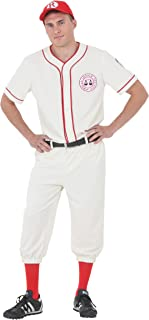 League of Their Own Coach Jimmy Baseball Uniform Costume