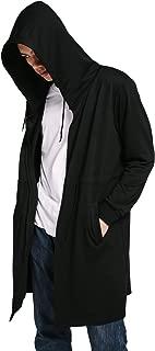 Best dark night hooded overcoat Reviews