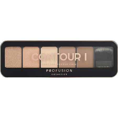Profusion Cosmetics Pro Makeup Case Contour I Palette - Light Medium