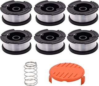 Green Box Innovations Line String Trimmer Replacement Spool for (Black+Decker AF-100