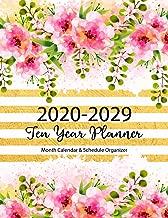 Ten Year Planner 2020-2029: 120 Month Calendar Time Management   10 Year Monthly Planner   Schedule Organizer   Agenda Journal (10 Year Journal 2020-2029)