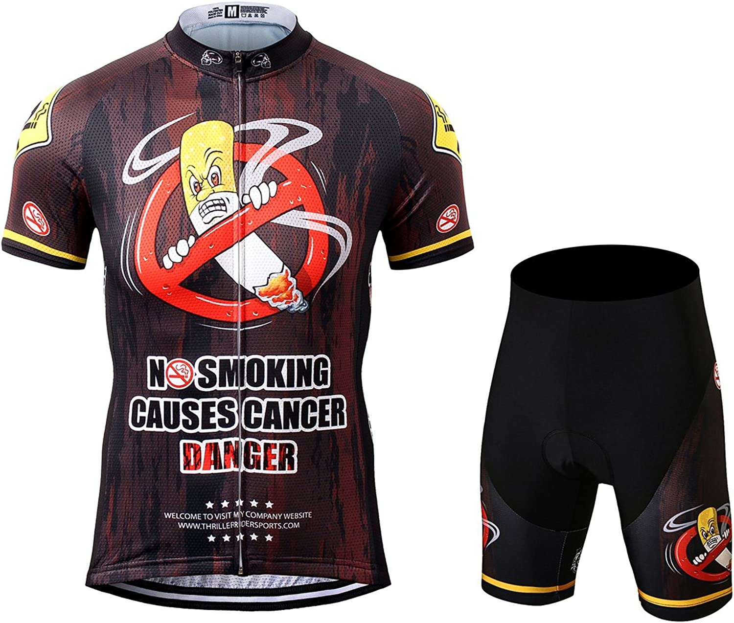 TRS0013 LAOYOU Men's Cycling Jersey Mountain Bike Sports Short Sleeve Jersey Bicycle Cycle Shirt Wear Comfortable Breathable Shirts Tops