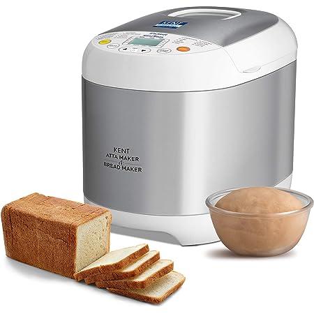KENT - 16010 Atta and Bread Maker 550-Watt (Steel Grey)