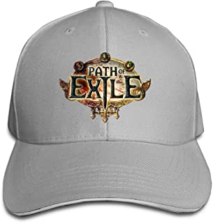 ACMIRAN Path Of Exile Unisex Sun Hat One Size Red