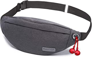 MAXTOP Fanny Pack for Men Women Waist Pack Bag with...