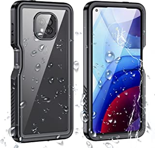 Waterproof Case for Moto G Power 2021, IP68 Level Water Swim Proof Case, Built-in Screen Protector,Heavy Duty Cover Protec...