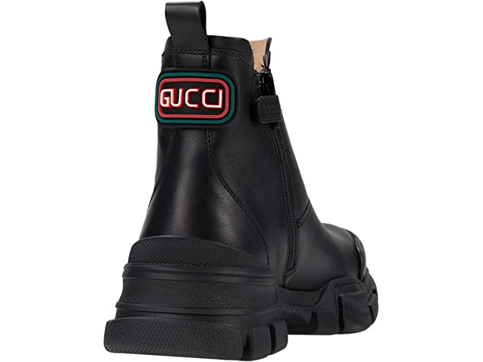 Gucci Kids Leon Leather Boot (Little