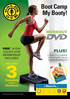 Golds Gym Boot Camp My Booty Workout DVD