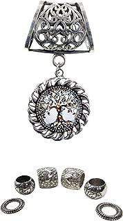 tree of life pendant slider scarf rings set costume jewelry pendants DIY