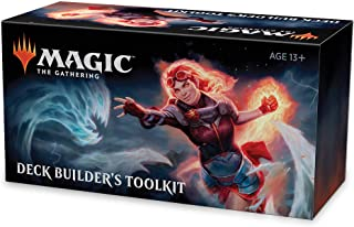 Magic The Gathering Core Set 2020 Deck Builder's Toolkit | 4 Booster Pack | 125 Cards | Deck Builder's Guide (C60280000)