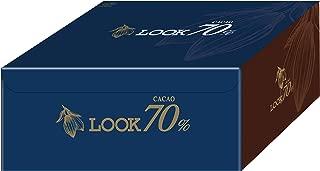 【Amazon.co.jp限定】 不二家 ルックカカオ70% 大容量ボックス 1kg