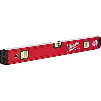 /rojo//negro Milwaukee 4932459062/60/cm redstick columna vertebral nivel/