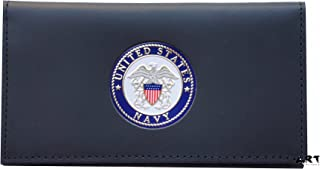 US NAVY, Officially Licensed CHECKBOOK COVER with Medallion