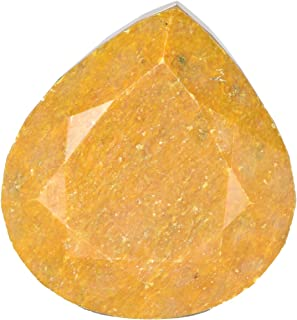 GEMHUB Buy Online Natural Yellow Sapphire Approximately 2357 Ct. EGL Certified Huge Size Gemstone