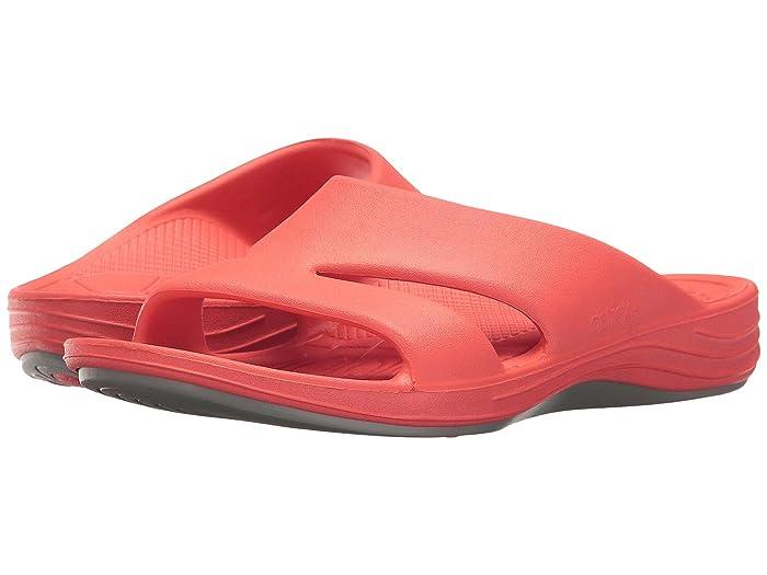Aetrex  Lynco Slide (Coral) Womens Sandals