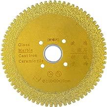 110mm Diamond Cutting Grinding Disc Brazed Saw Blade Porcelain Wheel Dry Corner Mill for Ceramic Glass Stones (#02)
