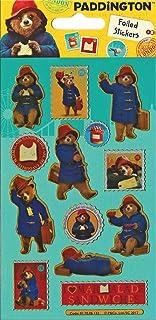 Paper Projects 01.70.06.132 Bear Paddington Movie błyszczące naklejki wielokrotnego użytku