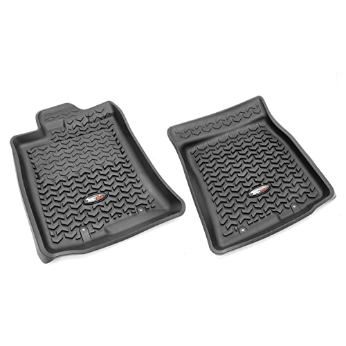 Rugged Ridge All-Terrain 82904.30 Black Front Row Floor Liner For Select Toyota FJ Cruiser