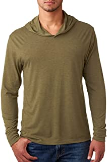Bodek And Rhodes 67445225 6021 Next Level Unisex Tri-Blend Long-Sleeve Hoody Military Green - Large