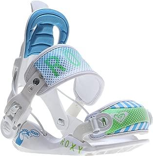 Roxy Rock-it Ready Snowboard Binding - Kids' White, XS