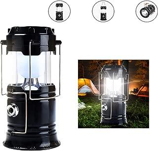SolUptanisu Linterna Radio de Emergencia,Multifunci/ón Manivela LED Camping Linterna de Emergencia Radio Antorcha Torch Light Luz Tel/éfono Cargador Verde
