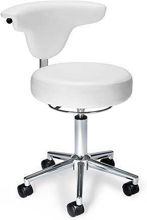 OFM 910-WHITE Anti-Microbial/Bact Anatomy Vinyl Chair White
