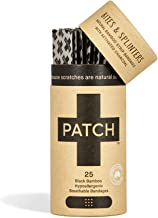 Sponsored Ad - PATCH Eco-Friendly Bamboo Bandages for Bites & Splinters Hypoallergenic Wound Care for Sensitive Skin Compo...