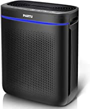 PARTU HEPA Air Purifier for 215 Sq.Ft, Advanced Auto Mode, Smart Sensor, Lock Set Effectively Eliminates Smoke, Dust, Poll...