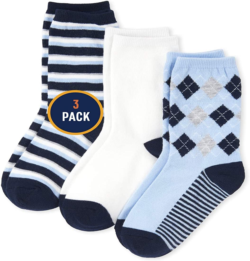 The Children's 4 years warranty Limited price Place boys Pack of Socks Three