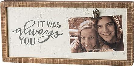إطار صورة صندوق مدمج من Primitives by Kathy 39013، مقاس 38.1 سم × 17.78 سم × 5.08 سم، It was Always You