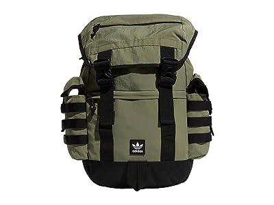 adidas Originals Adidas Originals Urban Utility III Backpack (Legacy Green/Black) Backpack Bags